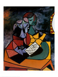 The Lesson Arte por Pablo Picasso