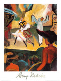 Russian Ballet I Prints by Auguste Macke