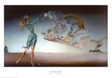 Mirage Affiches par Salvador Dalí