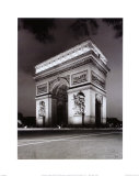 Arc de Triomphe Art by Christopher Bliss