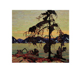 The Jack Pine Prints by Tom Thomson