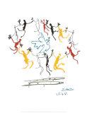La ronde de la jeunesse Affiches par Pablo Picasso