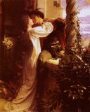 Romeo i Julia Plakat autor Frank Bernard Dicksee