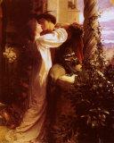 Frank Bernard Dicksee - Romeo ve Juliet - Tablo