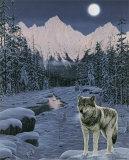 Sentinelle solitaire Poster par Jeff Tift