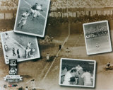 Bobby Thomson - 1951 Home Run PF Gold Composite (Limited Edition) Photo