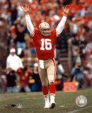 Joe Montana - celebrating touchdown Photo