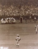 Bobby Thomson - 1951 Home Run Celebration (at home plate) Photo