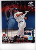 Derek Jeter 2000 Subway Series Portrait Plus Photo