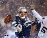 Tom Brady 2001 Divisional Playoff vs. Raiders Photo
