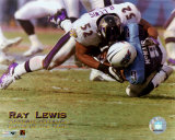 Ray Lewis - 2000 Defensive Player of the Year - &#169;Photofile Photographie