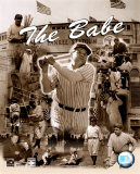 Babe Ruth - L&#233;gendes du baseball - Image composite - &#169;Photofile Photographie
