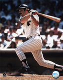 Thurman Munson - batting Photo