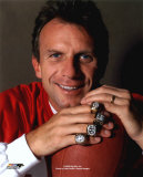 Joe Montana - With Superbowl Rings Photo