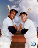 Mickey Mantle and Roger Maris- Blue Sky Photo