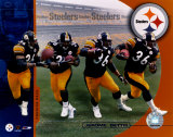 Jerome Bettis Multiple Exposure Photo