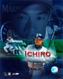 Ichiro Suzuki - Composite (Vertical) - &#169;Photofile Photo