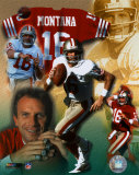 Joe Montana - Legends of the Game Composite - &#169;Photofile Photo