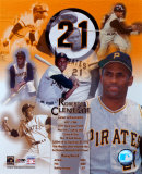 Roberto Clemente - L&#233;gendes du baseball - Image composite - &#169;Photofile Photographie