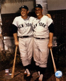 Mickey Mantle and Roger Maris- Palm Trees Photo