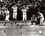 Carlton Fisk Multi Exposure - &#169;Photofile Photo