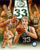 Larry Bird - Légendes du basket-ball - Image composite - ©Photofile Photographie