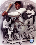 Jackie Robinson Legends Composite - &#169;Photofile Photographie