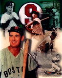 Ted Williams - Legends of The Game Composite - ©Photofile Photographie