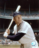Mickey Mantle - 8 Posed with Bat (Yankee Stadium) Photo