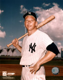 Mickey Mantle - #6 Posed with Bat - Photofile Fotografa
