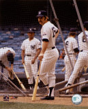 Thurman Munson - Batting Cage - Photofile Fotografa