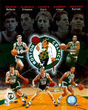 "Boston Celtics ""Big Five"" Legends Composite Photo"