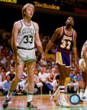 Larry Bird and Magic Johnson - &#169;Photofile Photo