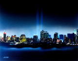New York, New York - Towers of Light - September 11th Tribute Photo