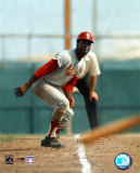 Lou Brock - On Base Photo