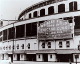 Wrigley Field - Outside/Sephia Photo