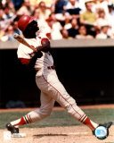 Lou Brock - Batting Photo