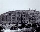 Yankee Stadium - extérieur/sepia - ©Photofile Photographie