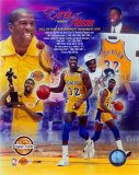Magic Johnson Hall of Fame PF Gold Composite Photo