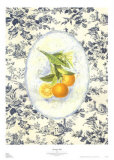 Toile orange Art par Sarah Elizabeth Chilton