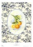 Toile orange Art par Sarah Elizabeth Chilton