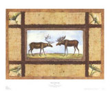Moose Lake Lodge Prints by Zachary Alexander