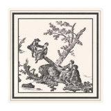 Toile d'Amor Prints by Pierre D'Artagnan