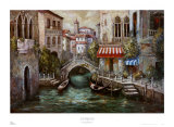 Venice, Paradiso Canal Art by Gianni Mancini