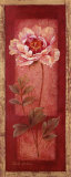 Red Door Peony Poster by Pamela Gladding