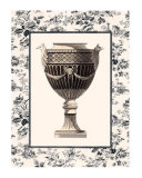 Roman Urn with Toile I Posters by Sarah Elizabeth Chilton