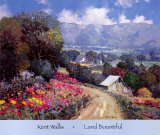 Land Bountiful Poster by Kent Wallis