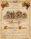 Brouilly Posters by Pamela Gladding