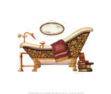 Luxury Soak Poster by Lisa Danielle