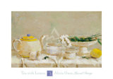 Tea with Lemon Prints by Alicia Grau